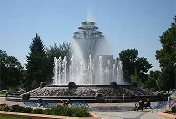 large water fountain