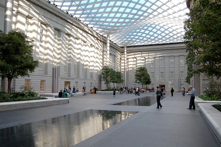 Kogod Courtyard Smithsonian