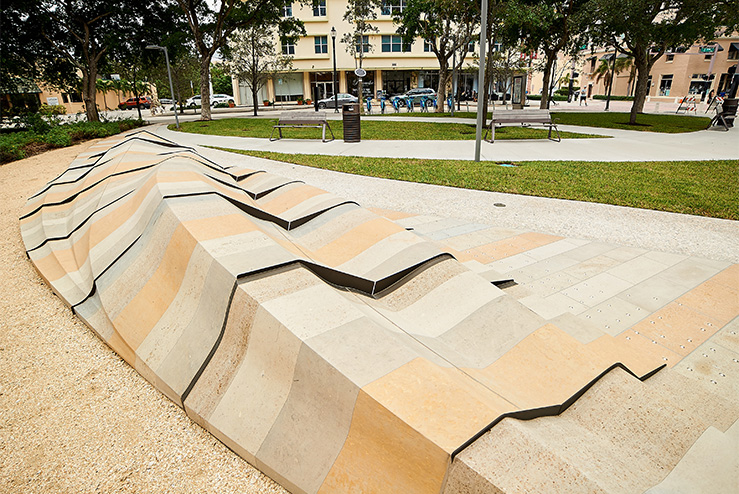 Natural Stone Seating