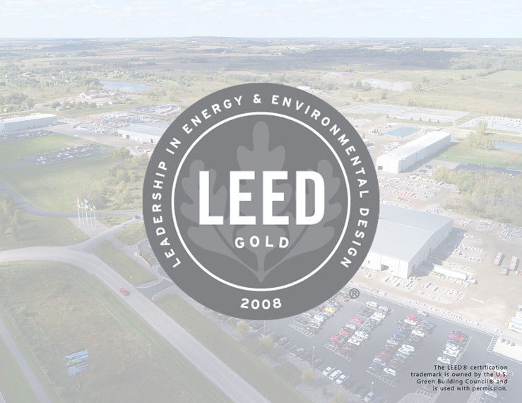 LEED Gold® certified natural stone supplier
