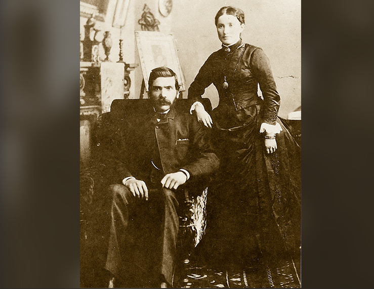 Henry Alexander and Maggie Milne