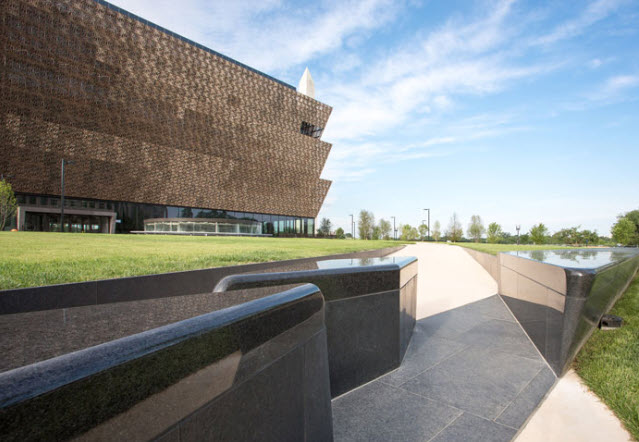 Multiple Granite finishes at National Museum