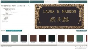 personalize your memorial customization