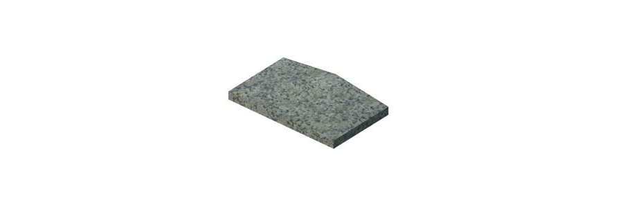 Coping - Three Way Washed Surface - Alternate